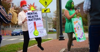 Friendship House Staffers Raise Awareness for World Mental Health