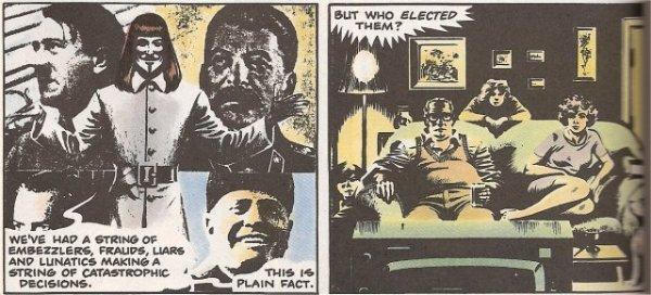 V for Vendetta panel