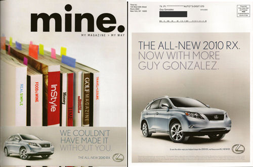 mine: Time, Inc's custom magazine