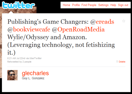 Publishing's Game Changers