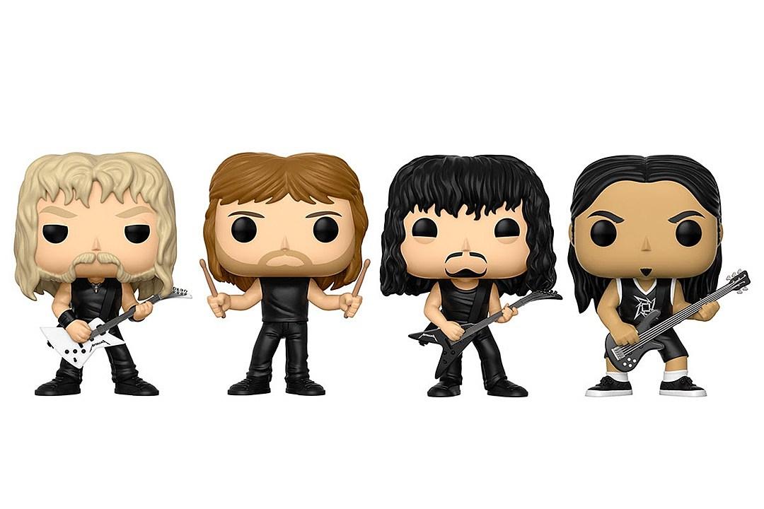Metallica Funko Pop! Vinyl Figures Coming This August