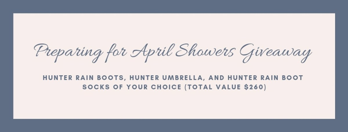 Louella Reese-April Showers Rafflecopter Giveaway