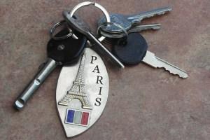 Trousseau-de-clés-location-courte-durée