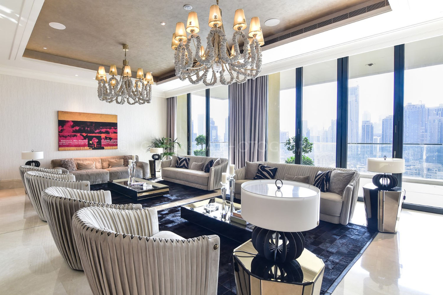 Real Estate Photography - Ultra Luxurious Apartment in Dubai, Downtown