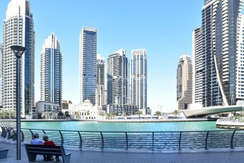 Dubai Marina Walk | Photo by Louie Alma