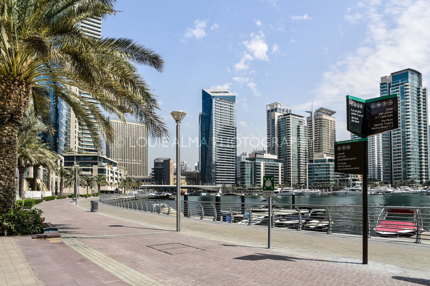 Louie Alma - Travel Photography, Dubai Marina Walk