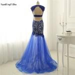 Designer Coolste Kleid Royalblau Lang DesignAbend Luxurius Kleid Royalblau Lang für 2019
