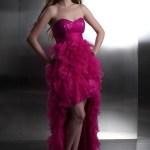 Designer Schön Pinkes Kleid Kurz ÄrmelDesigner Leicht Pinkes Kleid Kurz Stylish