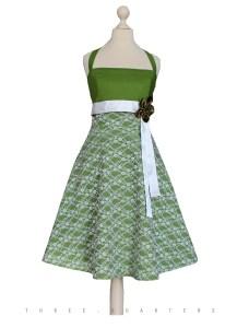 Kreativ Kleid Spitze Grün Boutique20 Top Kleid Spitze Grün Ärmel