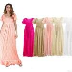 Ausgezeichnet Kleid Lang Spitze DesignDesigner Top Kleid Lang Spitze Ärmel