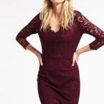 17 Luxurius Bordeux Kleid Ärmel20 Luxurius Bordeux Kleid Ärmel