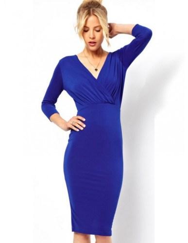 Blaues Kleid Kombinieren Archives Abendkleid