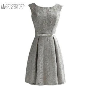 20 Einzigartig Kleid Grau Spitze BoutiqueAbend Elegant Kleid Grau Spitze Ärmel