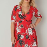 17 Genial Rotes Kleid Große Größen Ärmel Perfekt Rotes Kleid Große Größen Design