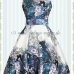 10 Schön Kleid Blau Blumen Design10 Perfekt Kleid Blau Blumen für 2019
