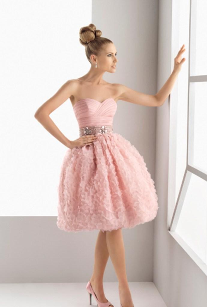 20 Luxus Rosa Kleid Hochzeitsgast ärmel Abendkleid