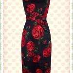 Genial Schwarzes Kleid Mit Roten Blumen Ärmel20 Elegant Schwarzes Kleid Mit Roten Blumen Galerie