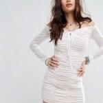 15 Einzigartig Weißes Kleid Mit Ärmeln für 2019 Cool Weißes Kleid Mit Ärmeln Galerie