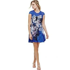 Formal Erstaunlich Damen Kleider Blau Stylish20 Luxus Damen Kleider Blau Galerie
