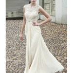 Ausgezeichnet Abendkleid Creme Lang Spezialgebiet17 Spektakulär Abendkleid Creme Lang Galerie