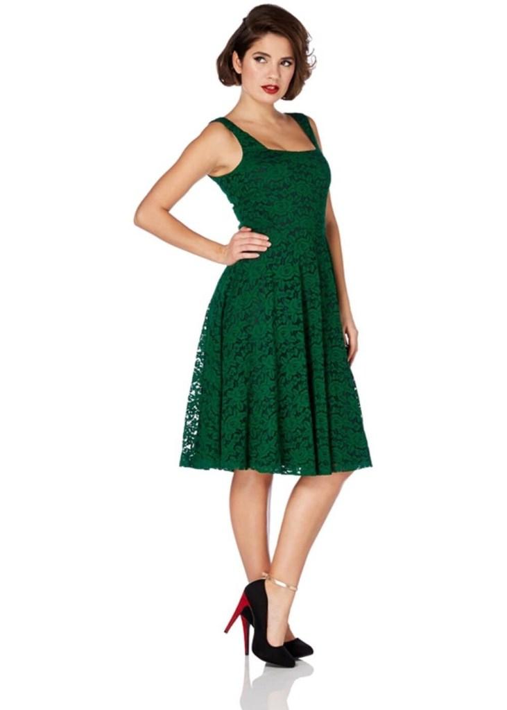 Abend Schön Grünes Kleid Mit Spitze Boutique   Formal Genial Grünes Kleid  Mit Spitze Design 0a4b8a9125