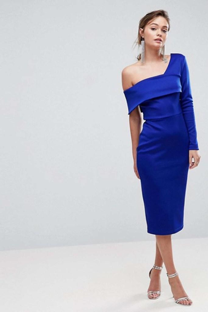 Genial Blaues Kleid Fur Hochzeit Fur 2019 Abendkleid