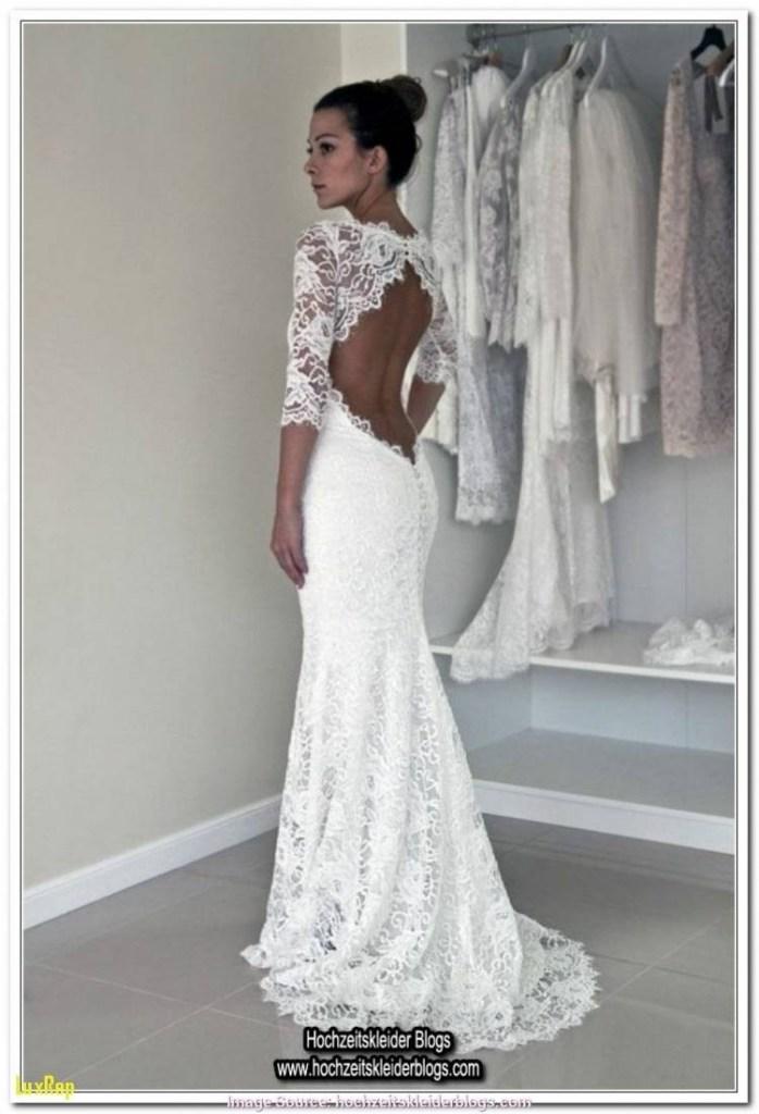 Leicht Kleid Hochzeit Langarm Galerie Abendkleid