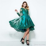 13 Schön Grünes Kleid Knielang Spezialgebiet13 Erstaunlich Grünes Kleid Knielang Ärmel