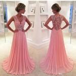 10 Schön Rosa Kleid Lang BoutiqueDesigner Einfach Rosa Kleid Lang Spezialgebiet
