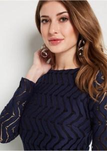 Formal Fantastisch Spitzenkleid Blau Langarm Bester Preis13 Elegant Spitzenkleid Blau Langarm für 2019