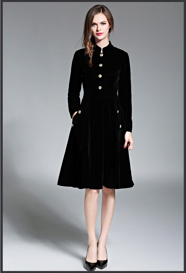 Elegante winterkleider damen