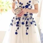 Schön Blaues Kleid Mit Blumen Ärmel20 Schön Blaues Kleid Mit Blumen Galerie