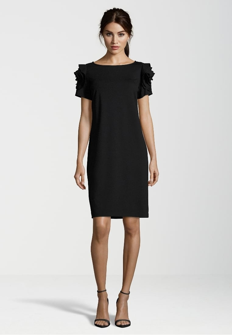 coolste festliche kleider knielang schwarz stylish