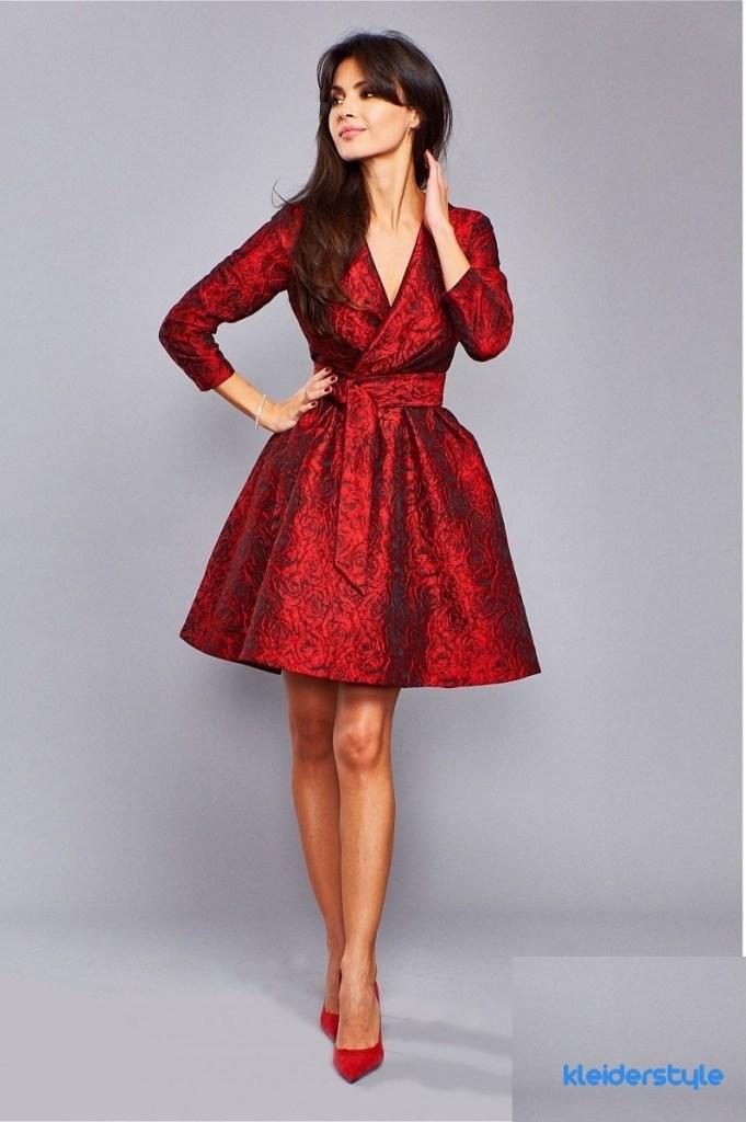 Spektakular Kleid Fur Hochzeit Rot Boutique Abendkleid
