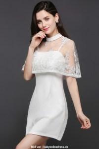 Abend Schön Abendkleid Weiß Kurz StylishFormal Einfach Abendkleid Weiß Kurz Design