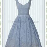 Designer Ausgezeichnet Kleid Blau Spitze Boutique10 Wunderbar Kleid Blau Spitze für 2019