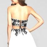 Abend Coolste Abendkleid Weiß Kurz Boutique13 Spektakulär Abendkleid Weiß Kurz Galerie