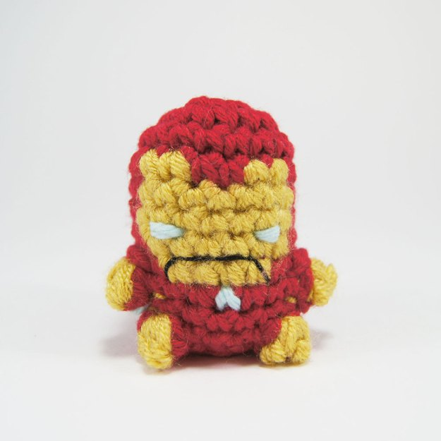 Crocheted Iron Man