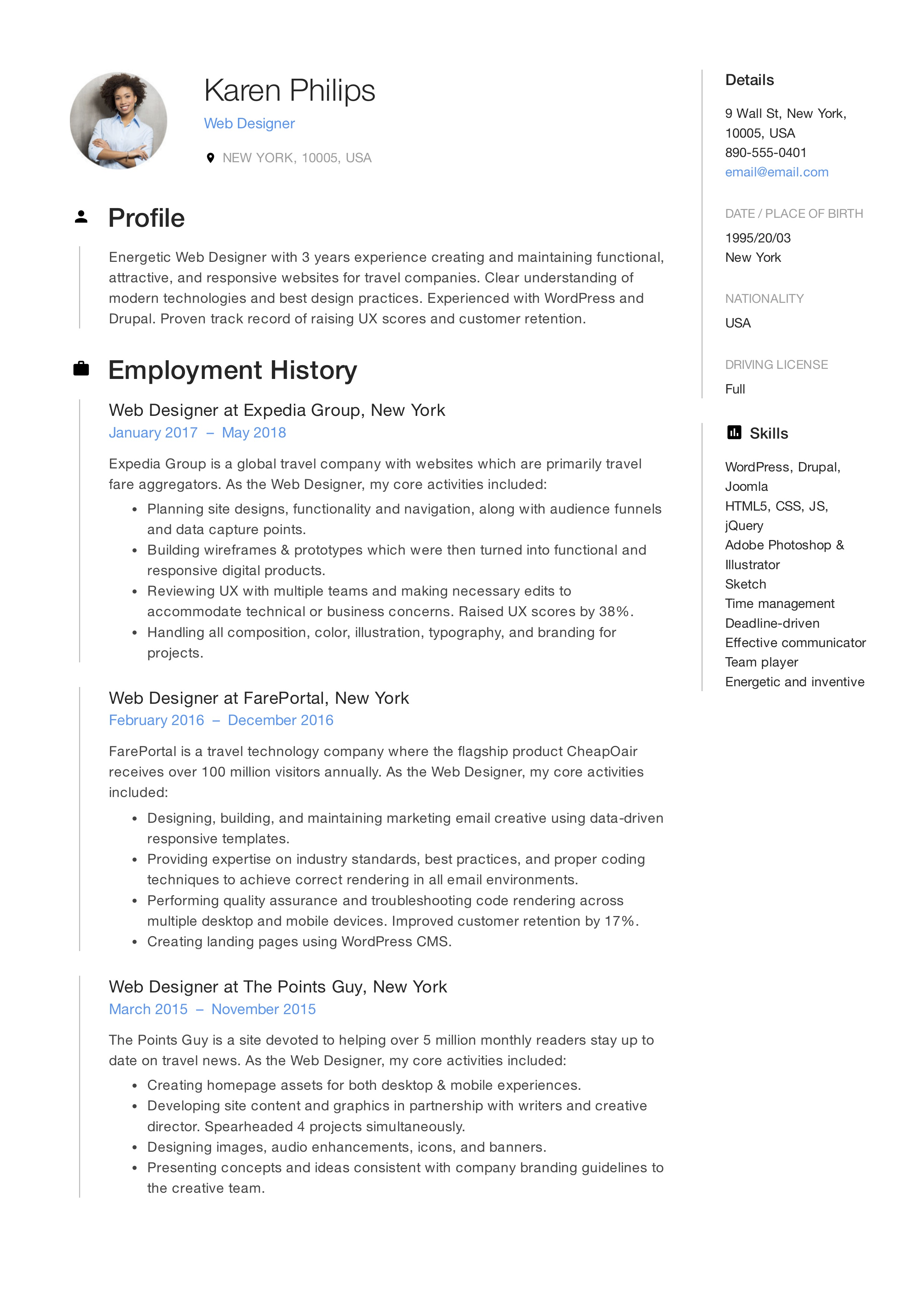 Check out these ways to create a quality, updated resume in a hurry. Fresher Resume Sample In Usa   louiesportsmouth.com