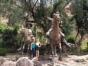 Con Feli y Don Quijote