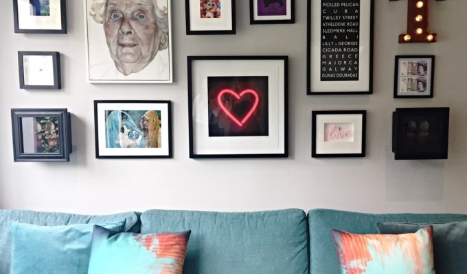 How To Hang A Gallery Art Wall