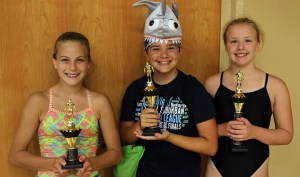 Mable Graham (left) and Emma Prettyman (right) were in the top 3 of the high points standings. Prettyman took first and Graham was third.