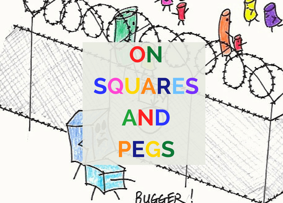 On Squares and Pegs