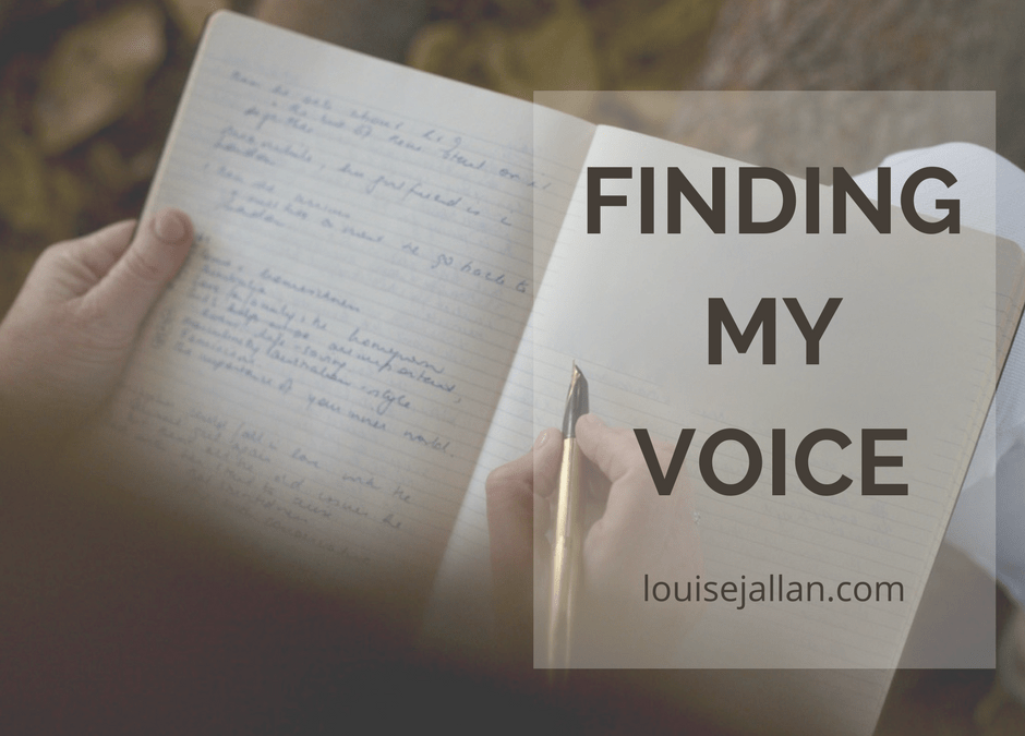 2. Trusting My Voice