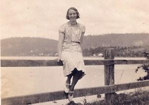 My grandmother.