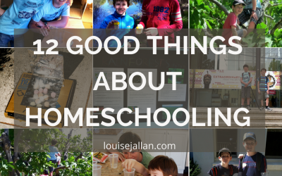 12 Good Things About Homeschooling