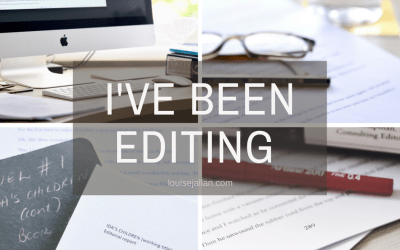 I've Been Editing …