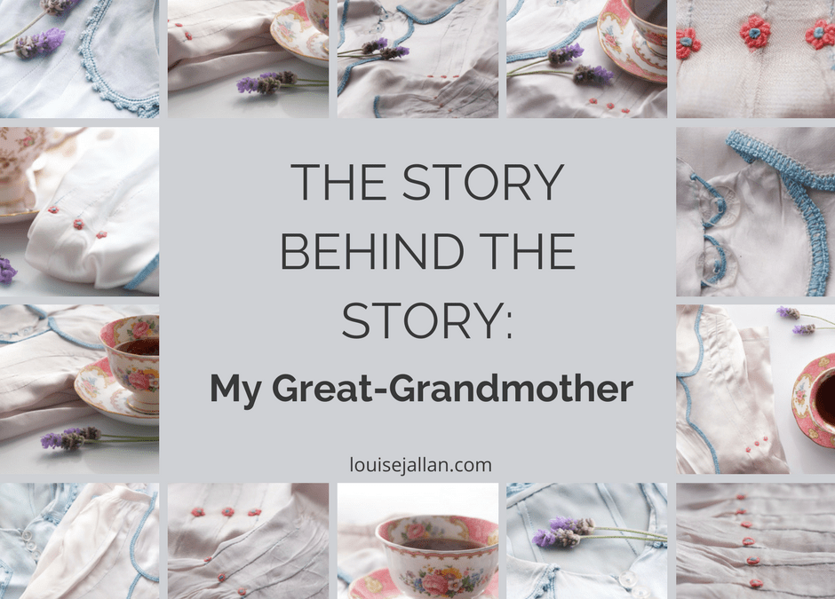 The Story Behind the Story: My Great-Grandmother