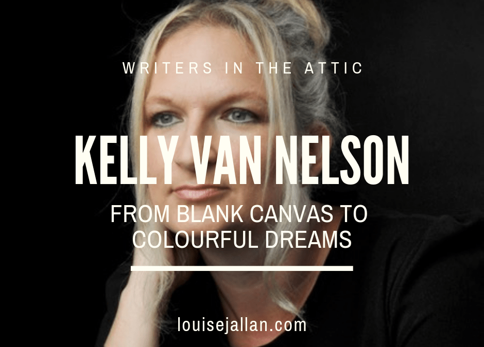 Kelly Van Nelson: From Blank Canvas to Colourful Dreams
