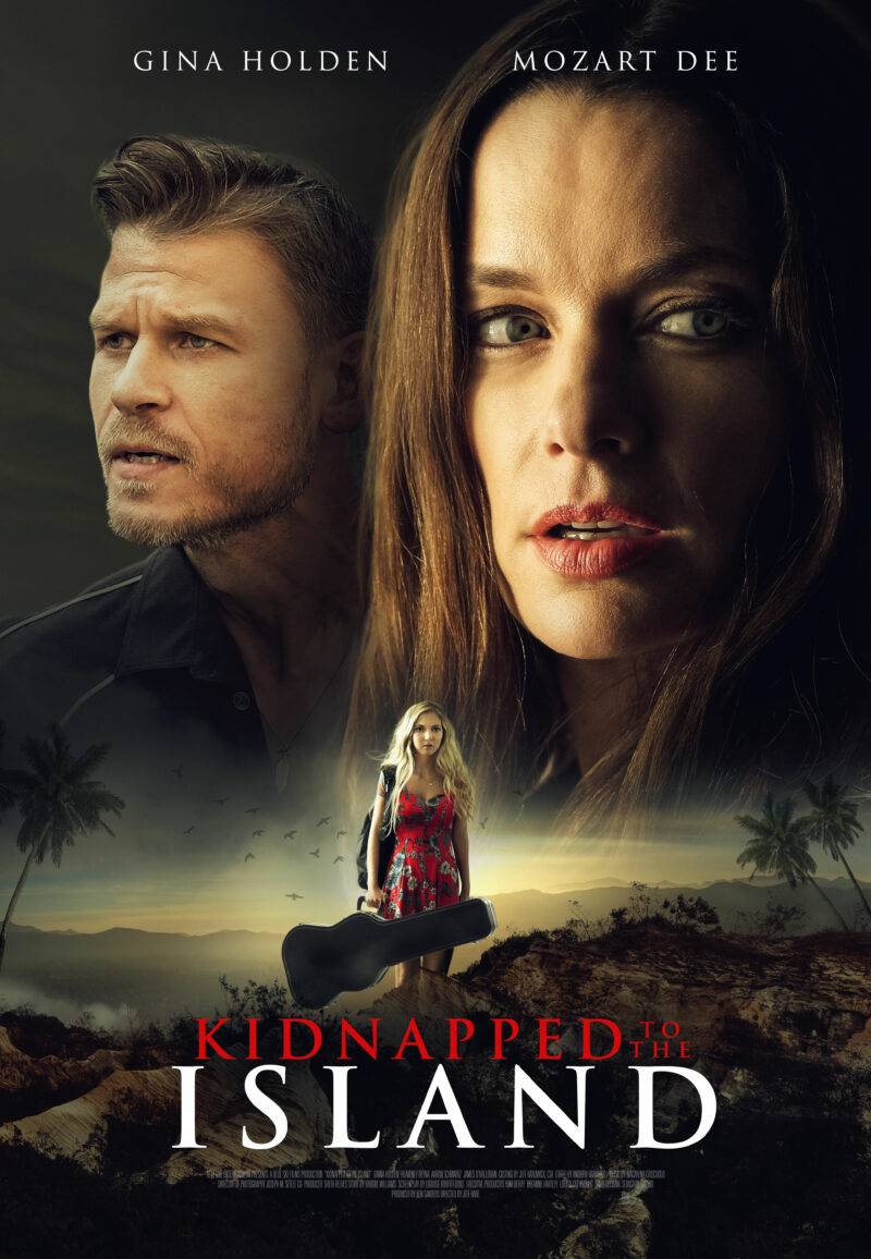 Kidnapped To The Island: Screenplay written by Louise Burfitt-Dons